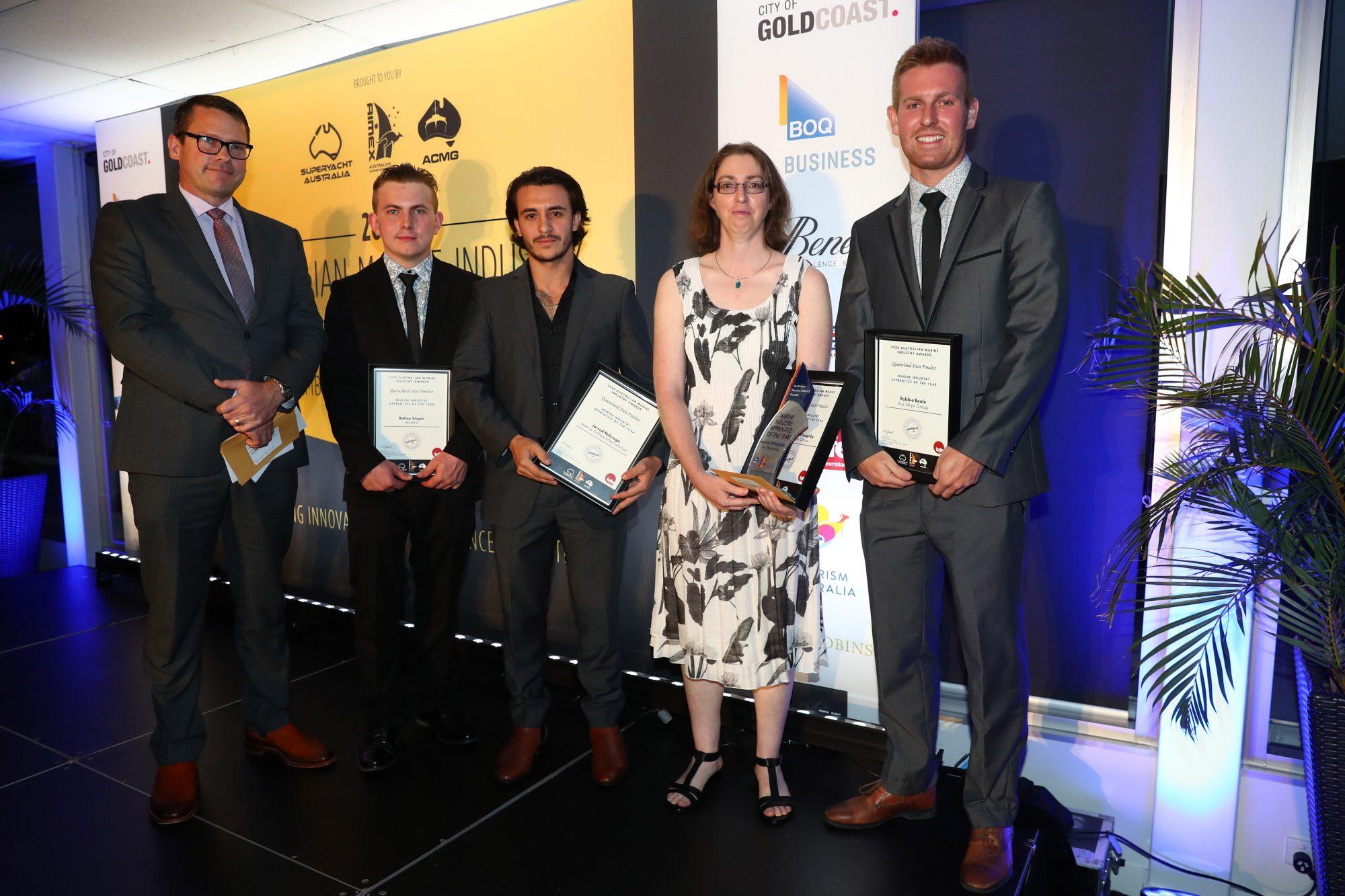 13. Tafe QLD Simon Hislop and 2020 Apprentice Finalists