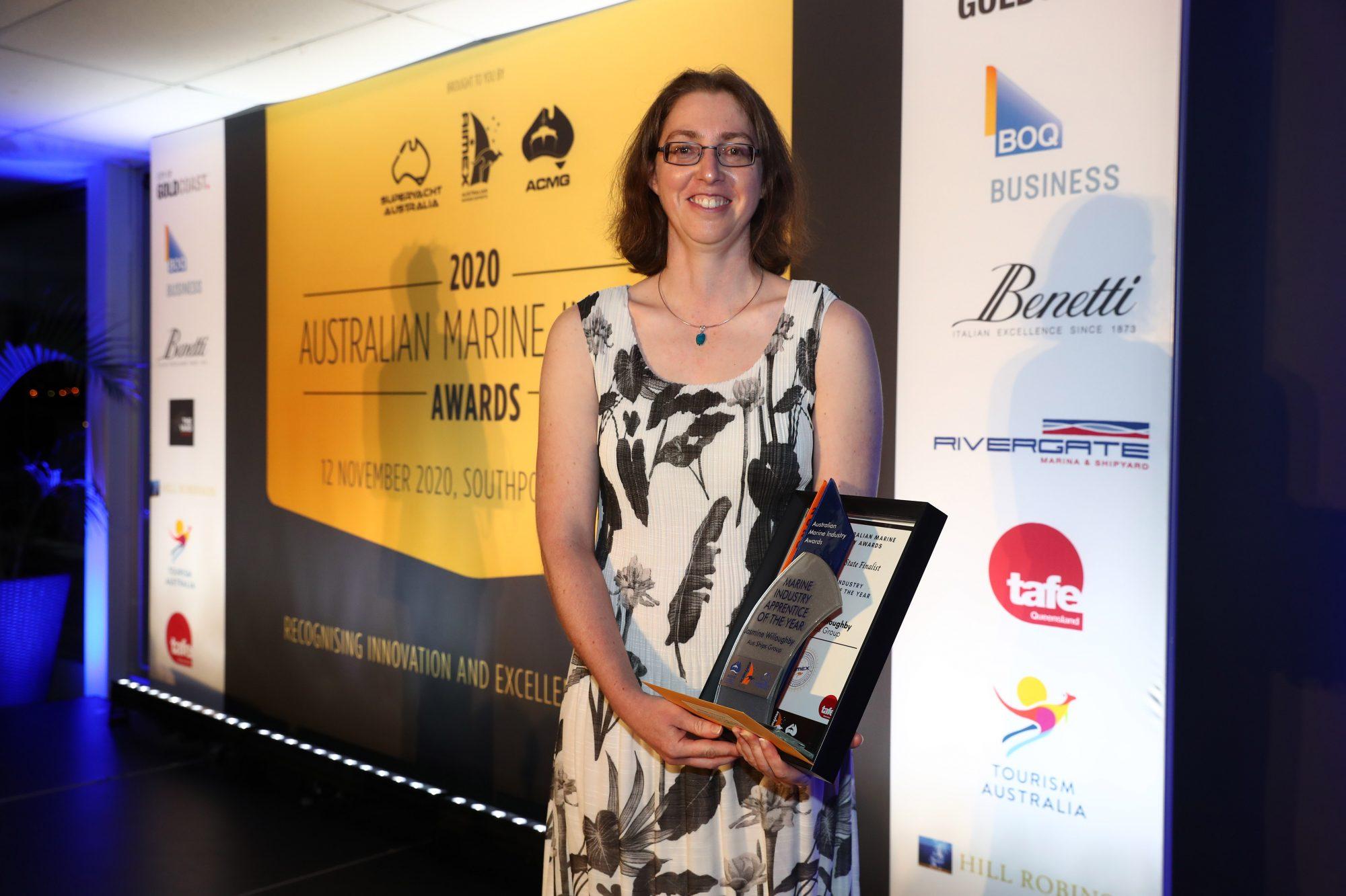 15. Jasmine Willoughby – Aus Ships Group – 2020 Apprentice Award Winner