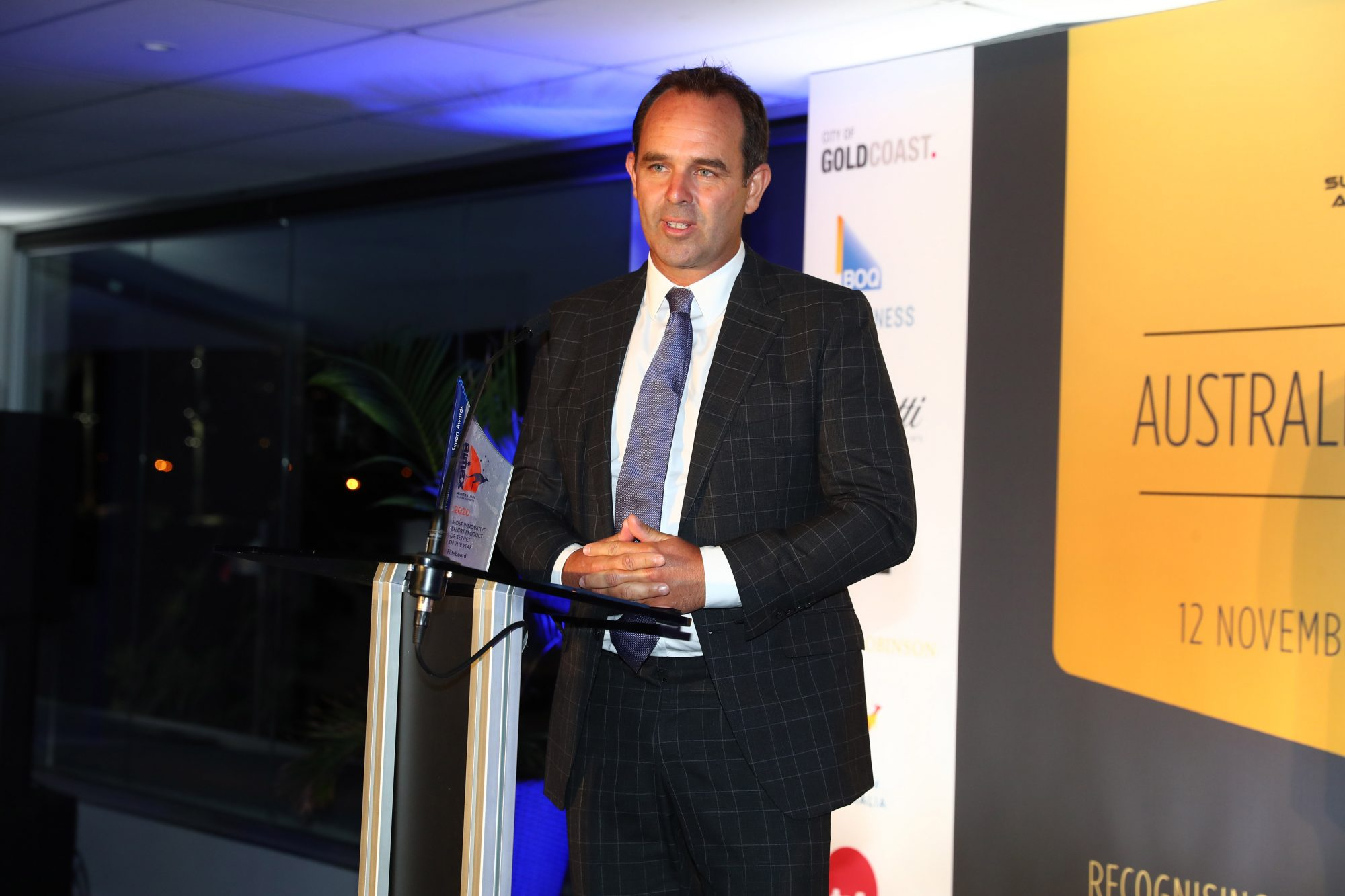 8. David Trewern – Fliteboard – Most Innovative Export Product of the Year Winner
