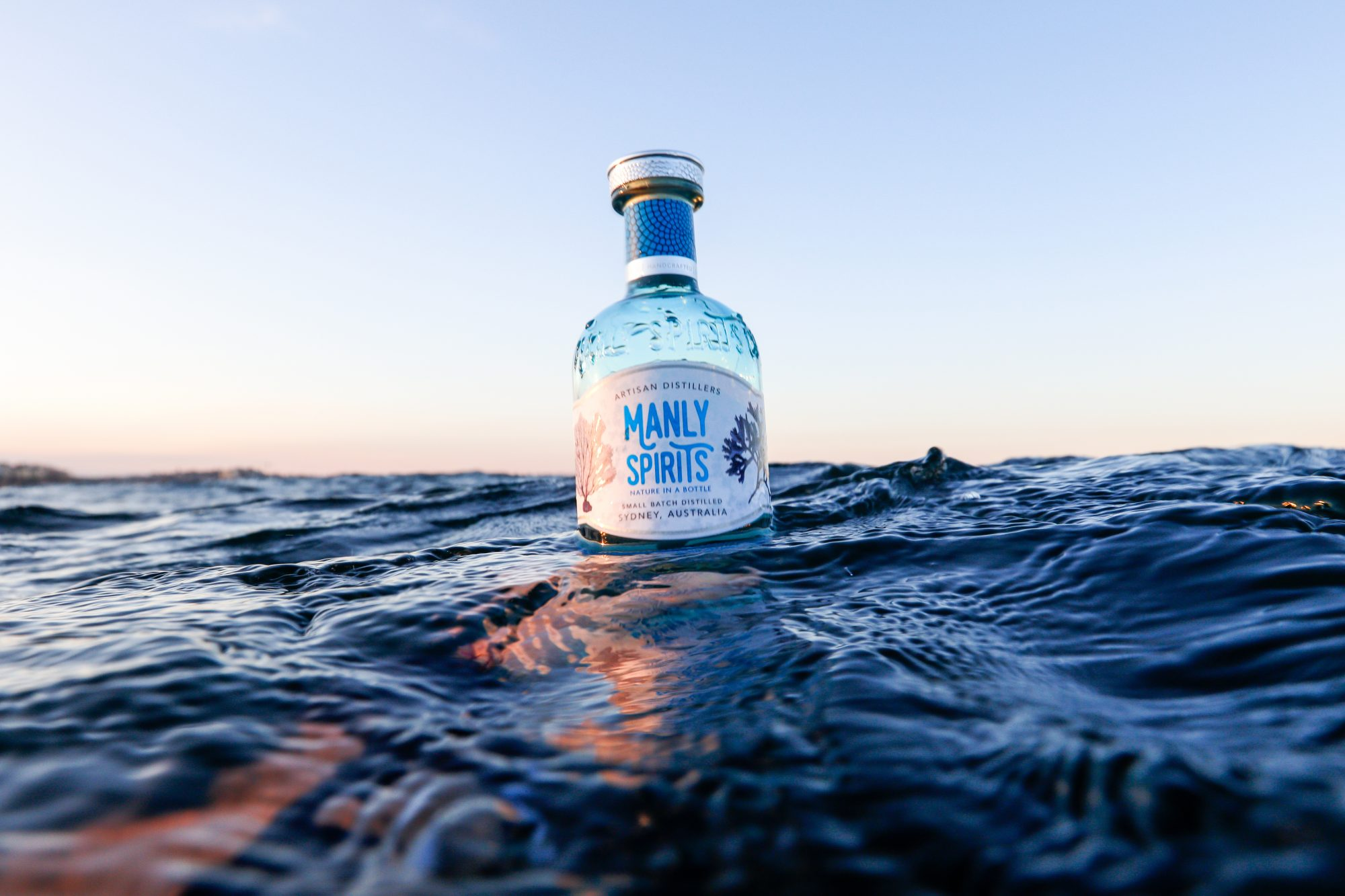 Manly Spirits Australian Dry Gin off Manly Spirits.image Piers Haskard