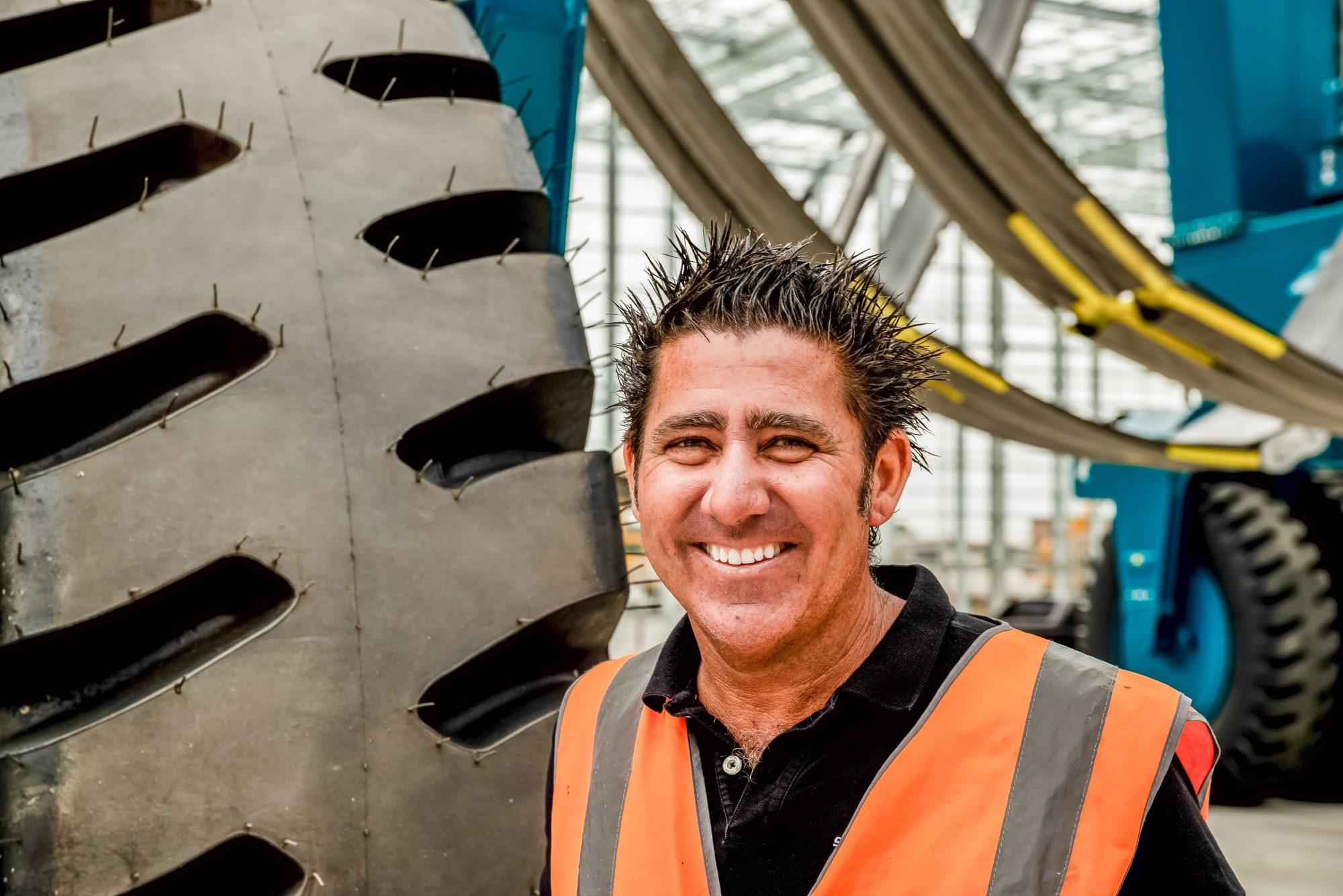 Shane Subichin General Manager 300 tonne Shiplift
